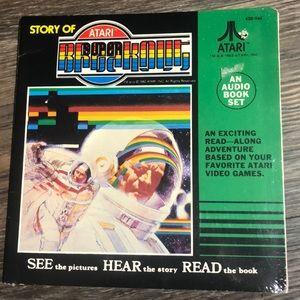 Vintage Atari Record & Read along book NEW
